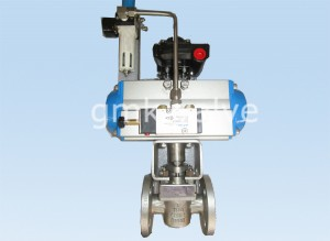 Sleeve type soft sealing plug valve with pneuamtic actuator