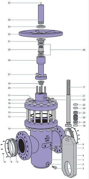 Parallel Plate Gate Valve supplier