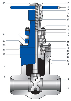 Pressure Seal Gate Valve supplier