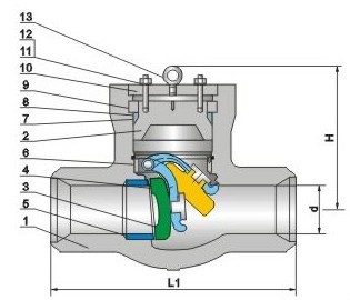 cheap Pressure Seal Check Valve
