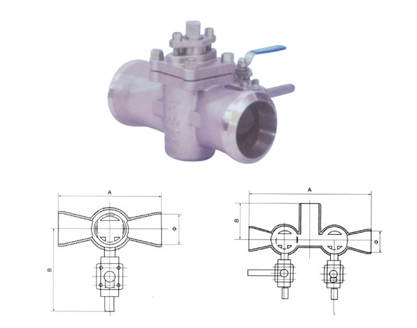 cheap Plug Valves With Single Or Double Flush