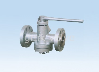 Inverted Shinikizo Mizani lubricated Plug Valve