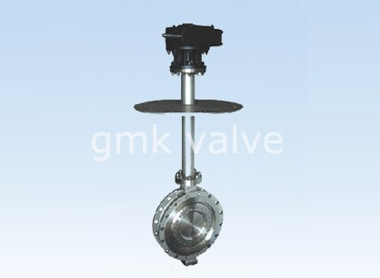 Cryogenic Triple Offset kupu Valve