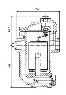 Inverted Bucket Steam Trap factory