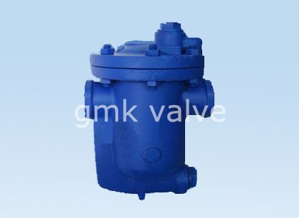 Baliktad bucket steam Trap