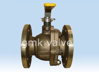 Brons Flanged Ball Valve