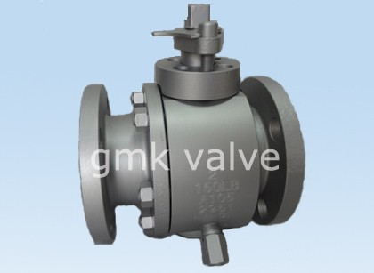 Smeid Steel Twa Piece flange Ball Valve