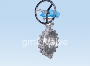 Stainless Steel Triple Offset lug butterfly valve