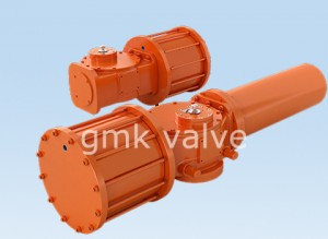 Scotch Yoke Math niwmatig Actuator