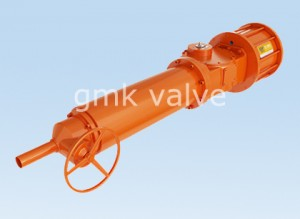 Scotch Yoke Type Pneumatic Actuator