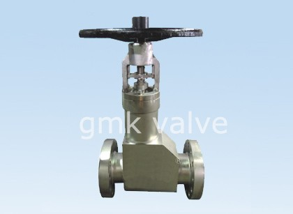 ANSI Standard Bellows Seal Globe Valve For High Pressure