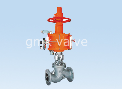 Globe Valve with pneumatic actuator Featured Image
