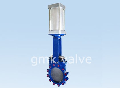 Cast Steel Pneumatic Knife Gate Valve