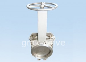DIN Stainless Steel Դանակ Gate Valve