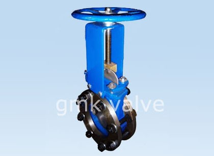 Equipped Flange Bid-direction Knfie Gate Valve