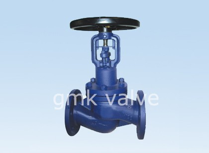Diperpanjang Bellows Seal Globe Valve