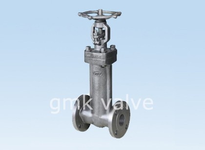 Kughushi chuma Bellows Seal Gate Valve