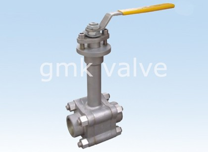 Smidd stål Cryogenic Ball Valve