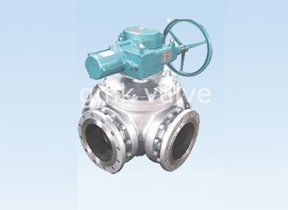 Four Way Ball Valve