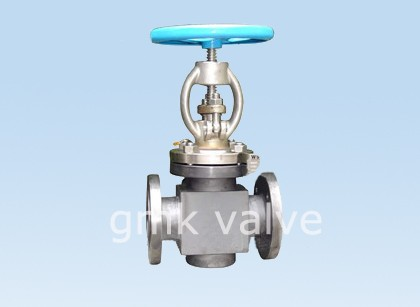 100% Original Din Stainless Steel Knife Gate Valve -