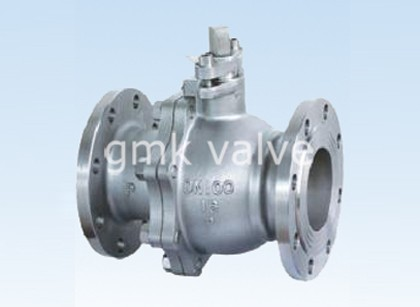 Europe style for Forged Steel Two Piece Flange Ball Valve -