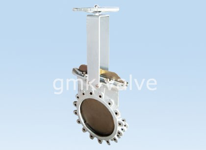 Non-Rising Cast Steel Knife Gate Valve