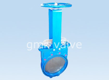 One Piece Cast Iron Bid-retning Slurry Valve