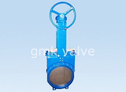 Yek piece Cast Steel Knife Gate Valve