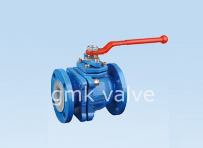 PFA lined Ball Valve