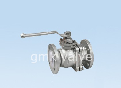 PFA Berjajar Stainless Steel Ball Valve