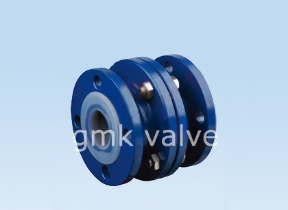 PFA Lined Vertical Lift Check Valve
