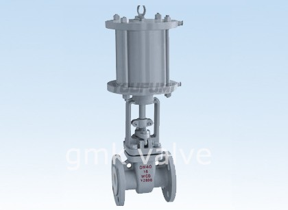 Pneumatic PTFE Lined Gate Valve