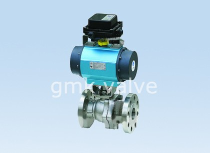Pneumatic Titanium Ball Valve