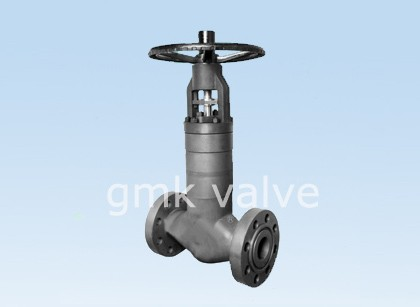 Sealing diri Tekanan Tinggi Bellows Globe Valve