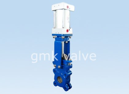Liten storlek Pneumatic Knife Gate Valve