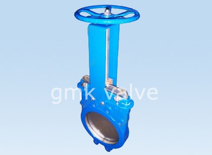 Soft esihlalweni sluice Knife Gate Valve