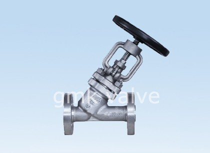 Y түрү Bellows Seal Globe Valve